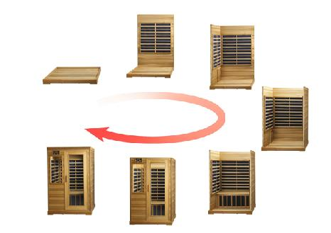 infrared sauna assembly tips